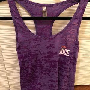 RAW JUCE workout tank top